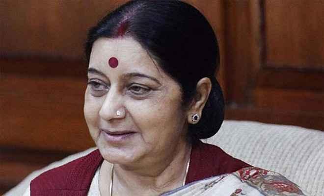आठ देशों के विदेश मंत्रियों के साथ सुषमा ने की बैठक