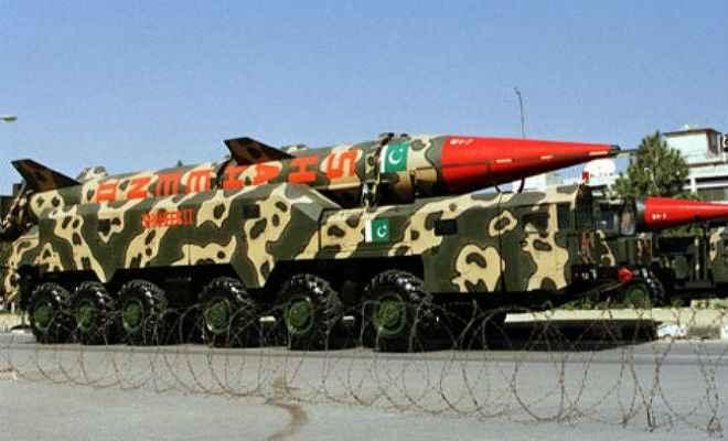 पाकिस्तान ने बना लिये हैं छोटे एटमी हथियार