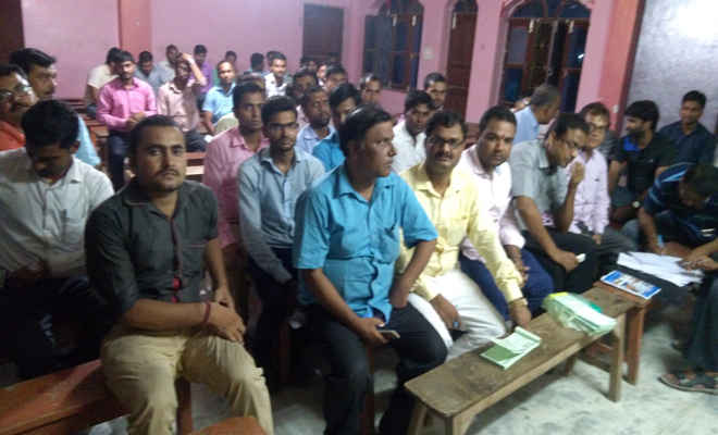 बैठक में मोतिहारी कोचिंग एसोसिएशन को बनाया गया और सशक्त