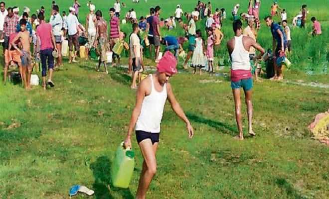 बरौनी-कानपुर पाइप लाइन से बक्सर में तेल चोरी का प्रयास