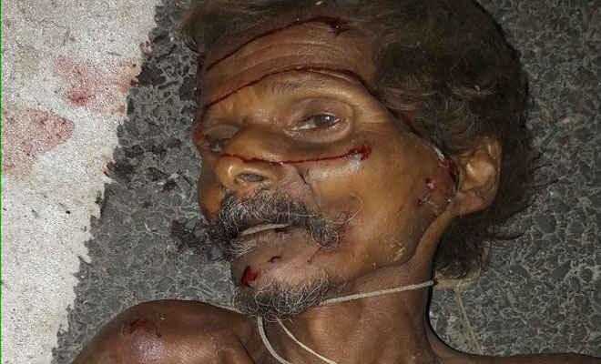 सड़क दुर्घटना में बृद्ध की मौत