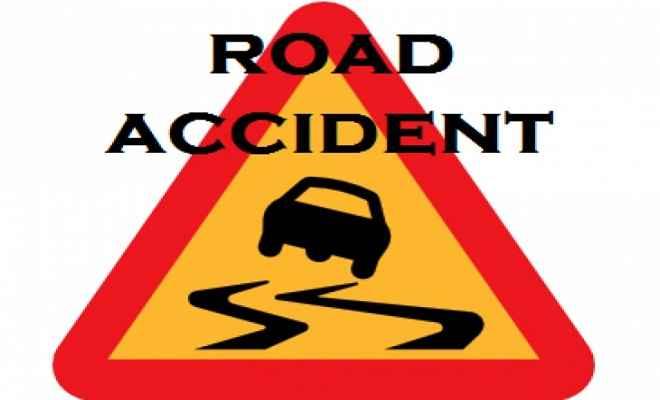 सड़क दुर्घटना में युवक की मौत