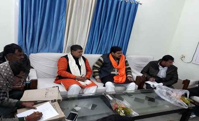 बिहार विधानसभा की निवेदन समिति के सदस्य पहुचे कटिहार, पदाधिकारियों के साथ किया विमर्श