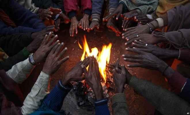 झारखंड में हाड़ कंपा देनेवाली ठंड से 8 लोगों की मौत