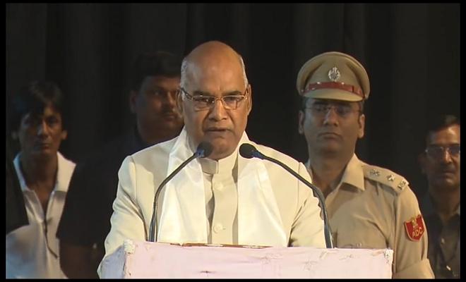 इसरो के 100वें उपग्रह का सफल प्रक्षेपण भारतीयों के लिए गौरव का क्षण : राष्ट्रपति