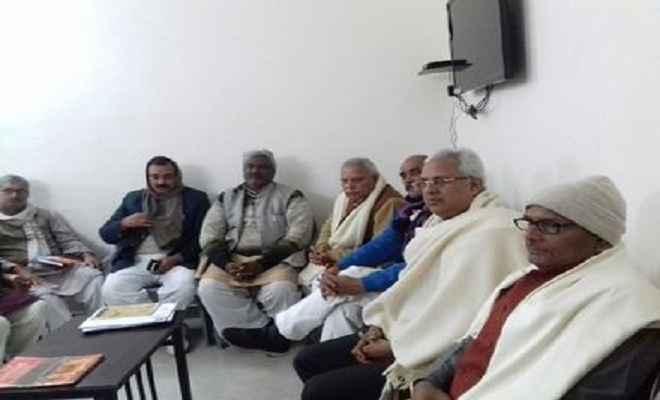 भाजपा ने शुरू की सहकारिता चुनाव की तैयारियां, सौंपे गए दायित्व