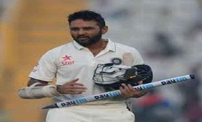 भारतीय टीम में तीन बदलाव, पार्थिव पटेल को मिला मौका