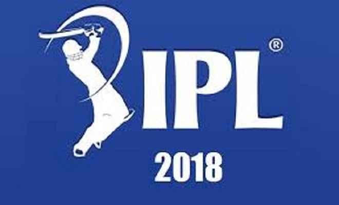 आईपीएल 2018 की नीलामी प्रक्रिया में 1,122 खिलाड़ी होंगे शामिल