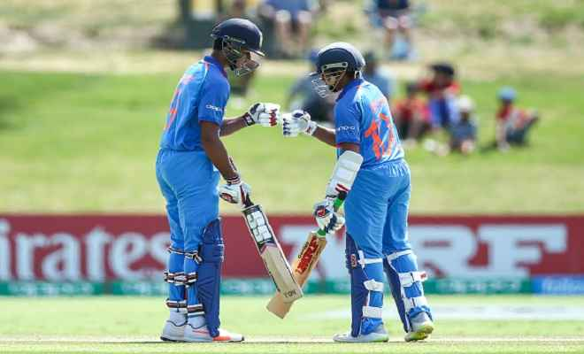 अंडर-19 विश्व कप : भारत ने ऑस्ट्रेलिया को 100 रन से हराया