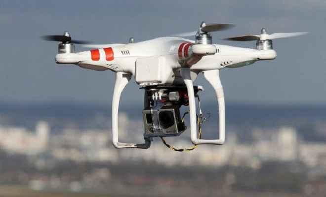ड्रोन की मदद से निर्माण परियोजनाओं की निगरानी
