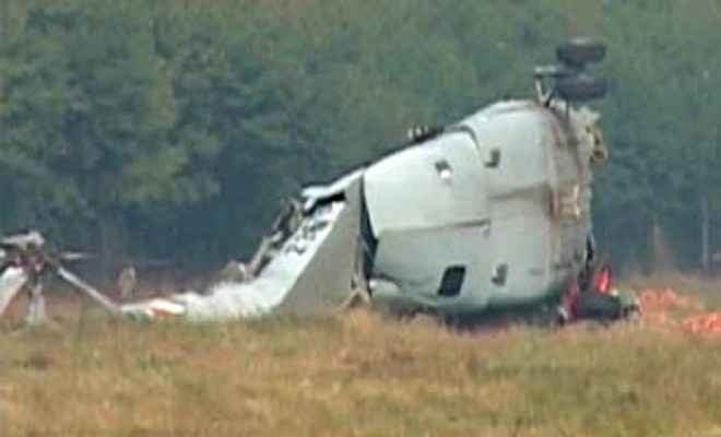 कोलंबिया में सेना का हेलीकॉप्टर गिरा, 10 मरे
