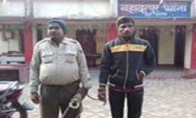 नाबालिग से शादी के प्रयास में एक तीन बच्चों का पिता गिरफ्तार