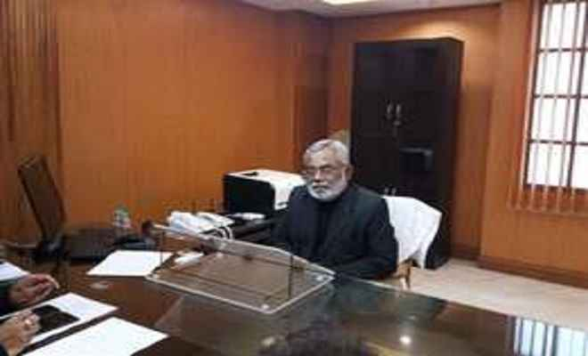 उप्र के नये राज्य निर्वाचन आयुक्त मनोज कुमार ने संभाला कार्यभार