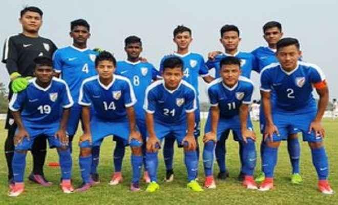 भारतीय अंडर-16 फुटबॉल टीम दुबई दौरे पर रवाना