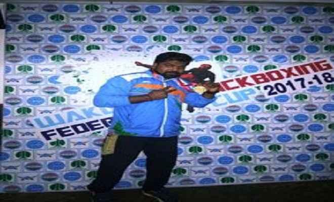 किक बॉक्सिंग फेडरेशन कप में सुधीर ने दिल्ली को दिलाया स्वर्ण