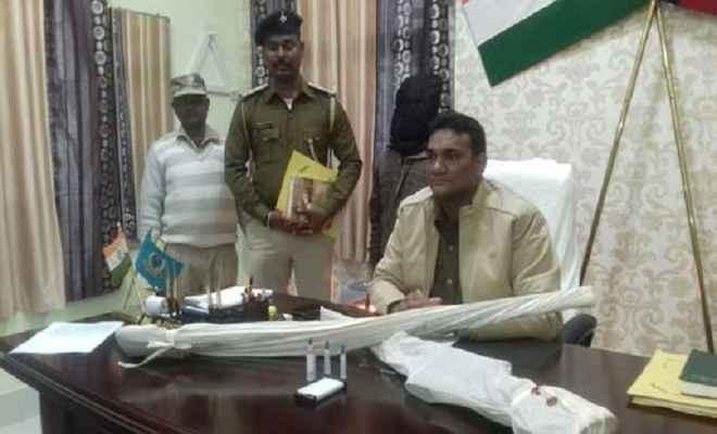 टीपीसी का नक्सली बसंत खरवार गिरफ्तार