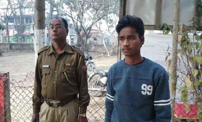 उल्फा (स्व) के नाम पर व्यापारी से 25 लाख की फिरौती मांगने वाला युवक गिरफ्तार