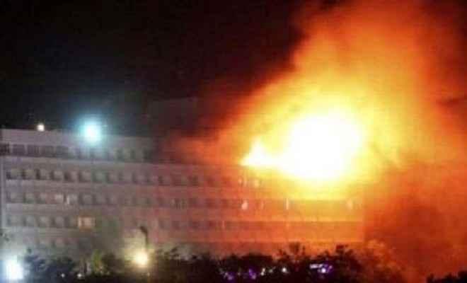 काबुल में होटल को कराया गया मुक्त, कई मरे