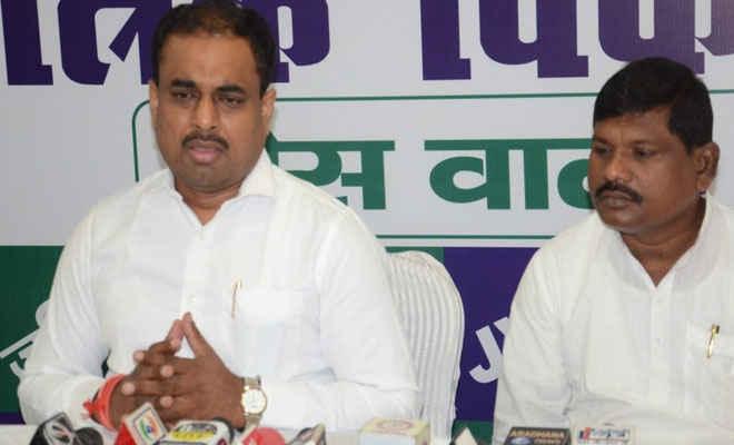 गुजरात में बिहारियों के साथ अत्याचार को है नीतीश कुमार की मौन स्वीकृति : अनिल कुमार
