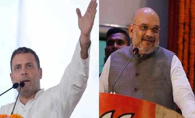 विधानसभा चुनाव: डकैतों के गढ़ रहे इलाकों में गरजेंगे राहुल गांधी, नवाबों के शहर में बोलेंगे अमित शाह