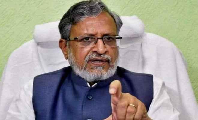 सुशील मोदी ने कहा, गुजरात में किसी को मजदूरों की रोटी से खेलने की इजाजत नहीं दी जाएगी