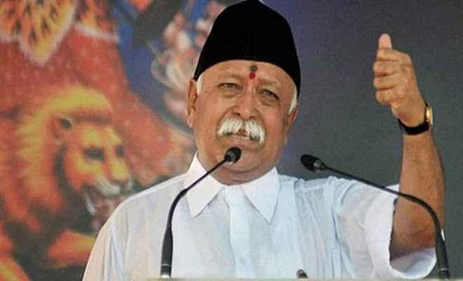 मोहन भागवत का बड़ा बयान, कहा- राम मंदिर के लिए कानून लाए सरकार