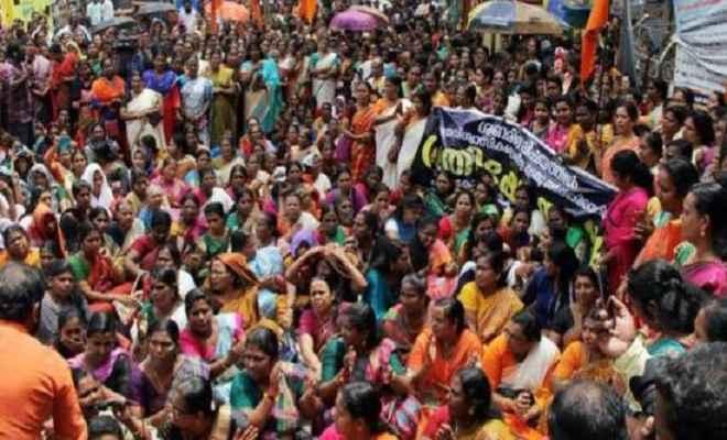 सबरीमाला: महिलाओं को प्रवेश ना मिलने पर आज केरल बंद, प्रदर्शनकारियों ने पुलिस पर फेंके पत्थर