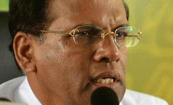 श्रीलंका के राष्ट्रपति सिरिसेना का दावा, राजपक्षे के पास 113 सांसदों का समर्थन