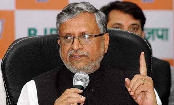मंदिर निर्माण की बाधाएं दूर करने में NDA सरकार का समर्थन करे कांग्रेस: सुशील मोदी