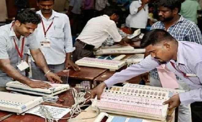 कर्नाटक उपचुनाव: भाजपा को झटका, 5 में से 4 सीटों पर गठबंधन आगे