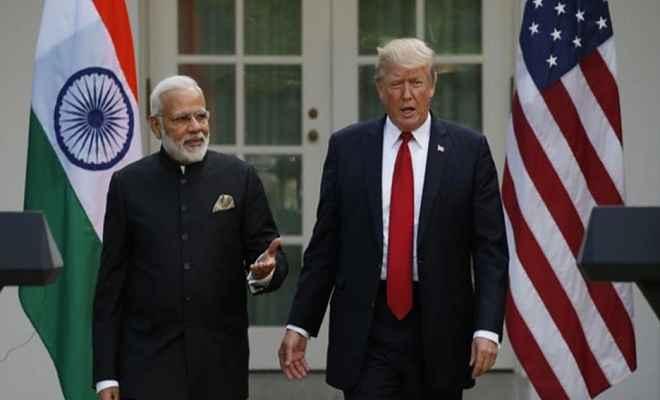 स्वतंत्रता और शांति की दिशा में 'सुरक्षा कवच' बन सकते हैं भारत और अमेरिका: राष्ट्रपति ट्रंप