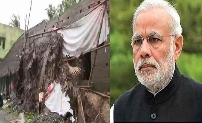 तमिलनाडु में 'गाजा' तूफान से 13 की मौत, प्रधानमंत्री मोदी ने जताई संवेदना