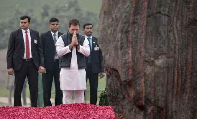 इंदिरा गांधी की 101वीं जयंतीः पूर्व प्रधानमंत्री को मोदी ने किया नमन, राहुल गांधी ने दादी को दी श्रद्धांजलि