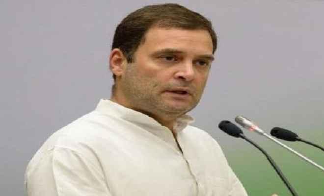 उम्मीद है कि उर्जित पटेल सरकार के सामने नहीं झुकेंगे : राहुल गांधी