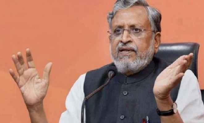 पारिवारिक कलह में फंसी राजद, जनता से जुड़ा कोई मुद्दा नहीं: सुशील मोदी