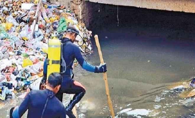 पटनाः नाले में गिरे दीपक का नहीं मिला कोई सुराग, आर्मी करेगी खोज