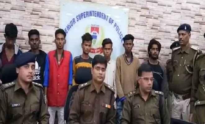 जमशेदपुर पुलिस को मिली बड़ी सफलता, चोरों के एक गिरोह को किया गिरफ्तार