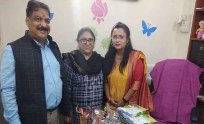 अबोध बच्चों के लिए महिला चिकित्सक ज्यादा फायदेमंद, शिशु रोग विशेषज्ञ डॉ अरुणिमा के मोतिहारी में नये क्लिनिक का शुभारंभ