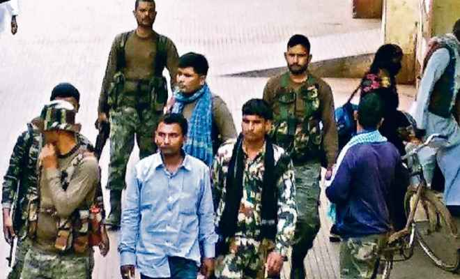 बिहार एसटीएफ ने हार्डकोर नक्सली को किया गिरफ्तार, चार साल से थी तलाश