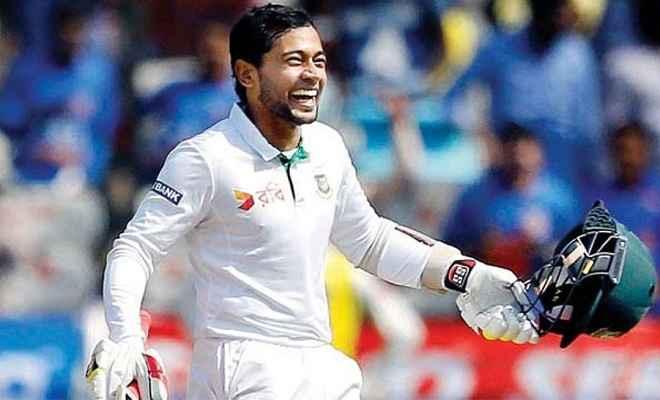 मुशफिकुर रहीम बने टेस्ट में 4000 रन बनाने वाले दूसरे बांग्लादेशी बल्लेबाज