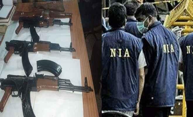 एके-47 मामला: जांच एजेंसी एनआईए ने मुंगेर में की छापेमारी