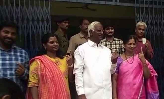 तेलंगाना विधानसभा चुनाव : सुबह 9.30 बजे तक 10.15 फीसदी दर्ज हुआ मतदान