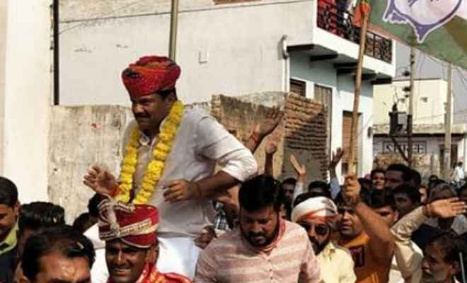 राजस्थान विधानसभा चुनाव में राजकुमार शर्मा ने लगाई हैट्रिक