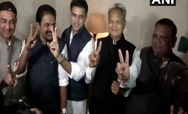 राजस्थान: साथ नजर आए सचिन पायलट और अशोक गहलोत, विधायक दल की बैठक कल