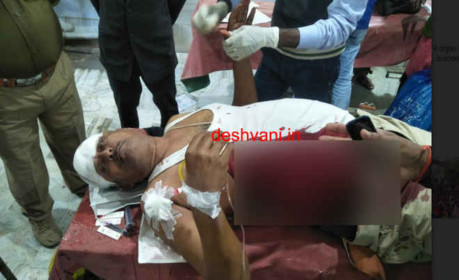 दरभंगा में बदमाश को पकड़ने गए तीन पुलिसकर्मियों को चाकू मार किया गंभीर घायल, गिरफ्तार