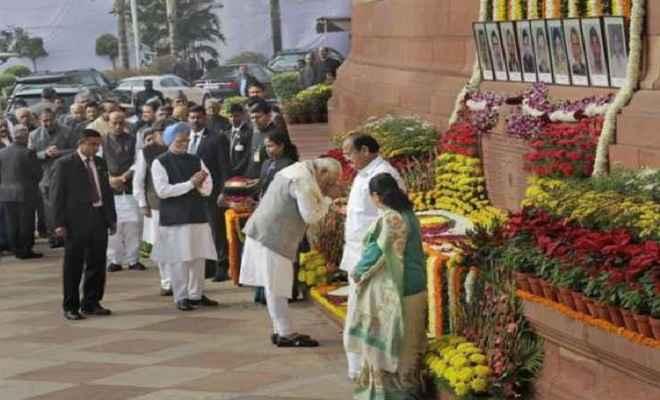संसद हमले की 16वीं बरसी आज, पीएम मोदी समेत सभी नेताओं ने शहीद जवानों को दी श्रद्धांजलि