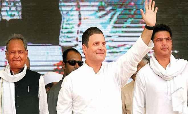 राजस्थान: राहुल से मिले गहलोत और पायलट, चार बजे तक मुख्यमंत्री पद का ऐलान संभव