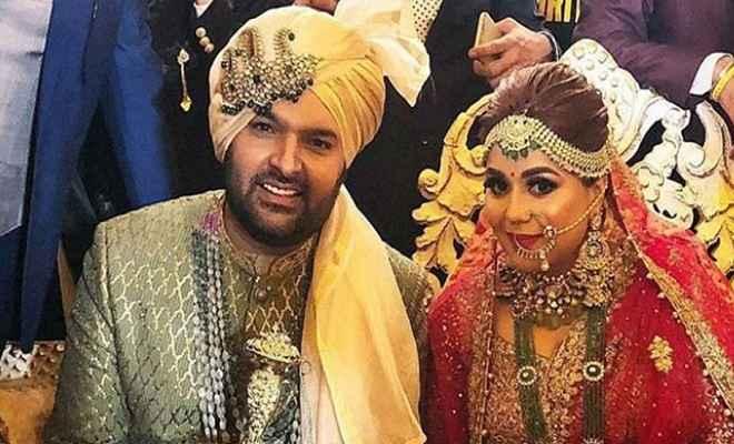 कपिल शर्मा और गिन्नी चतरथ ने लिए सात फेरे, तस्वीरें हुई वायरल