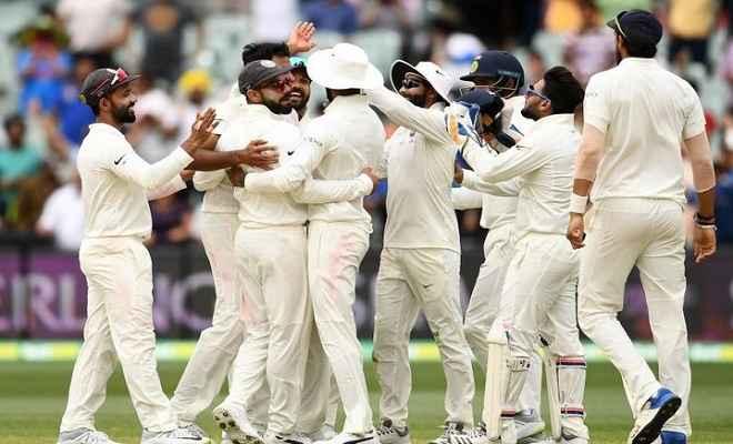 ऑस्ट्रेलिया की पहली पारी 326 रन पर सिमटी,  लंच तक भारत ने बनाए 6 रन