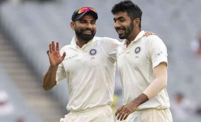 बुमराह, शमी और इशांत की तिकड़ी ने एक साल में सबसे अधिक विकेट लेने का बनाया विश्व रिकॉर्ड